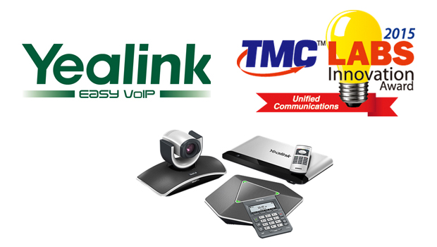 Yealink's Video Conferencing Systems Receive 2015 Unified Communications TMC Labs Innovation Award