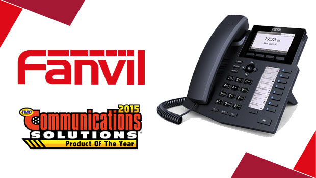 Fanvil Wins a 2015 Communications Solutions Product of the Year Award  X5/X5G Recognized for Exceptional Innovation