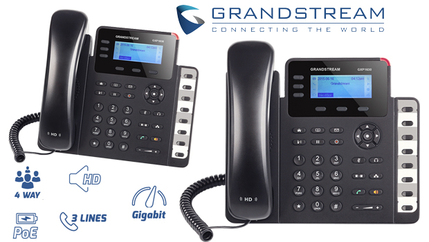 Grandstream Introduces New Small GXP1630 Gigabit IP Phone