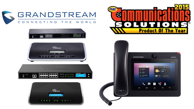 Grandstream Awarded 2015 Communications Solutions Product of the Year Award