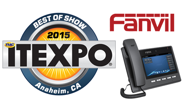 Fanvil Smart Video Phone C600 Wins Most Innovative Product at ITEXPO Anaheim 2015