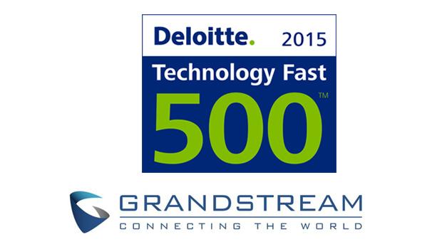 Grandstream Named to Deloitte's Technology Fast 500 Awards List