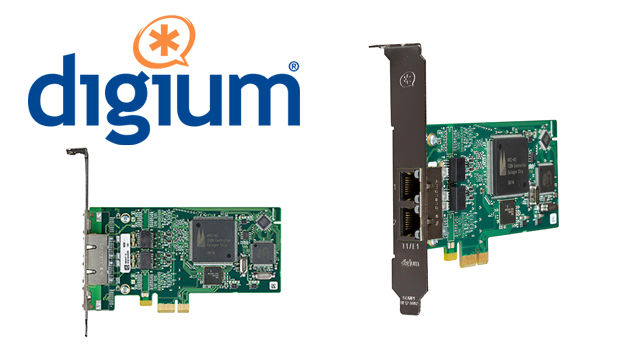 Digium announces release of B422 and B233 ISDN telephony cards for Asterisk