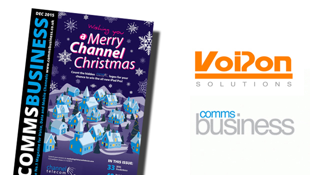 VoIPon give a preview of 2016 with Comms Business Magazine