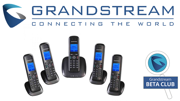 Grandstream Releases a New DECT Handset and Base Station for Beta Testing