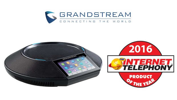 Grandstream GAC2500 Business Conference Phone Receives 2016 Internet Telephony Product of the Year Award