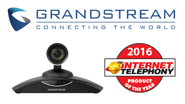 Grandstream receives 2016 Unified Communications Product of the Year Award for the GVC3200 Conferencing System