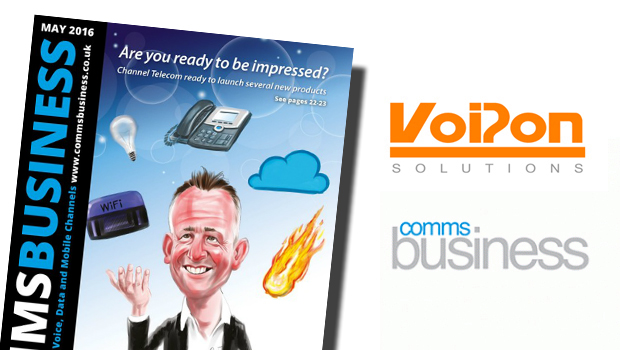 VoIPon discuss VoIP Headsets with Comms Business Magazine