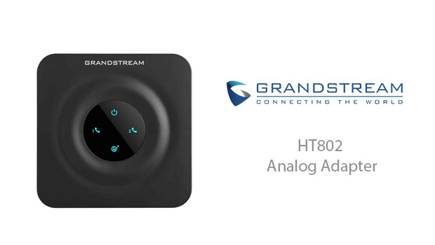 Introducing the new Grandstream HT802 Handytone ATA