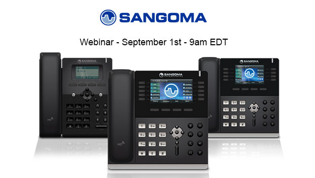 Sangoma Webinar: Sangoma Phone Apps – How to intuitively manage your Sangoma VoIP Phone