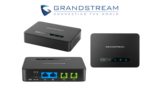 Grandstream introduce new 2-Port ATA HT812, with Gigabit NAT Router