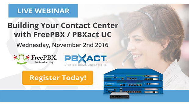 Global Webinar: Building Your Contact Center with FreePBX / PBXact UC