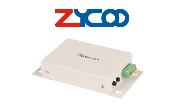 New firmware V1.1.0 for ZYCOO iSpeaker SIP paging systems introduces new features and improvements