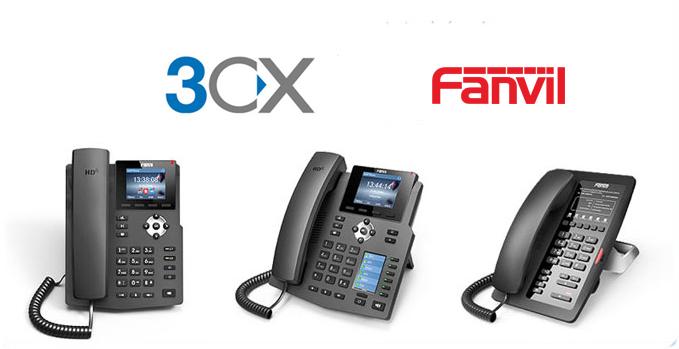 Fanvil X & H VoIP Phones series is fully compatible with 3CX V15 IP PBX Platform