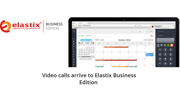 Video calls arrive to Elastix Business Edition