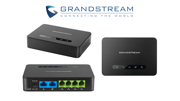 Grandstream introduces the HT814 4 port FXS Gateway with Gigabit NAT Router