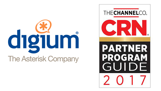 Digium Given 5-Star Rating in CRN's 2017 Partner Program Guide