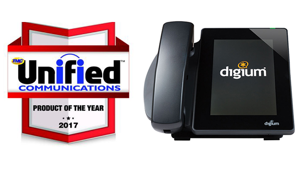 Digium D80 Touchscreen IP Phone Named UC Product of the Year