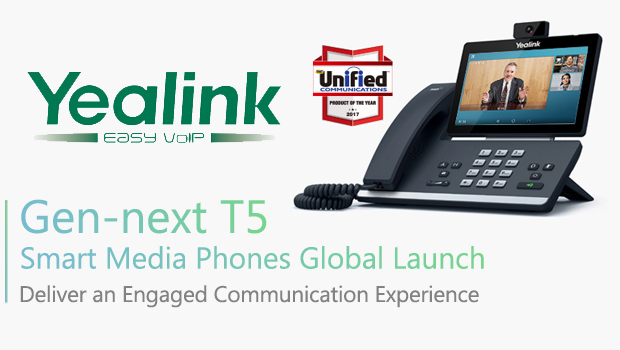 Yealink Launches T5 Smart Media Phone Series