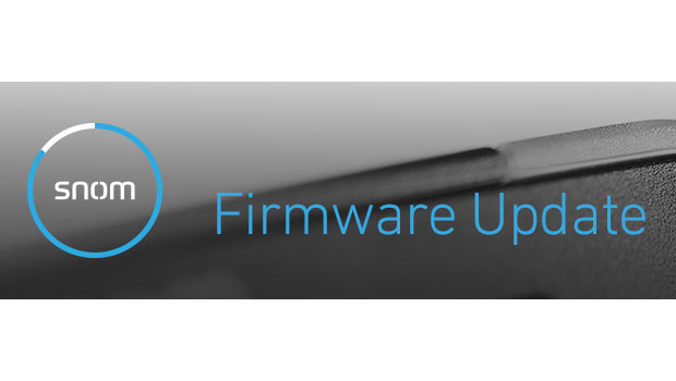 Major Snom Firmware update to Version 8.9.3.60