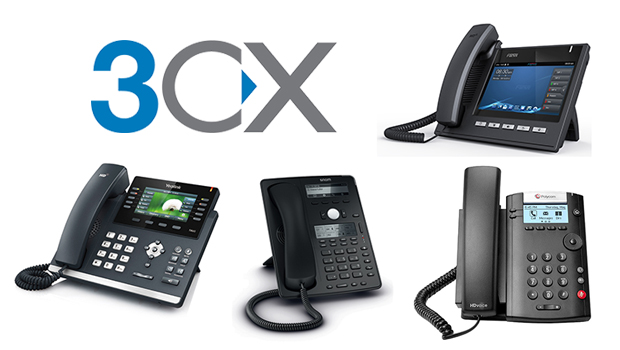 What SIP Phones can I use with 3CX?