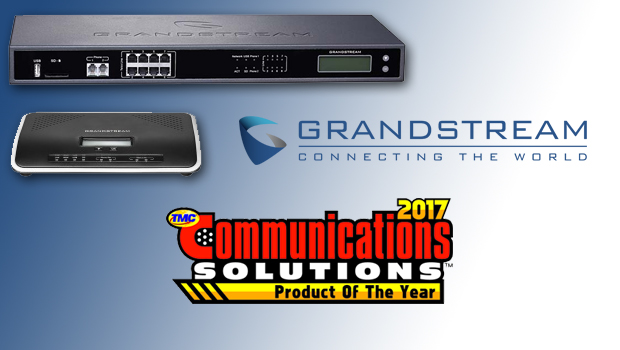 TMC Names Grandstream Networks a 2017 Communications Solutions Products of the Year Award Winner