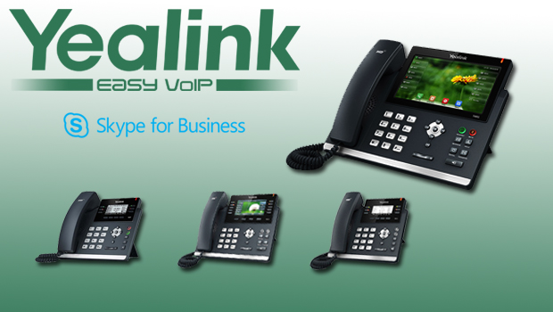 Yealink T4 Range (T41P, T42G, T46G, and T48G) Certified with Skype for Business
