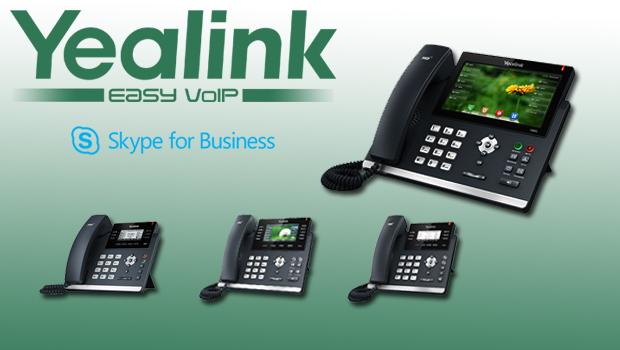 Yealink T4 Range (T41P, T42G, T46G, and T48G) Certified with Skype for Business
