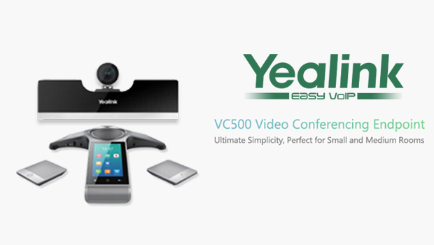 Yealink Launch VC500 Video Conferencing Endpoint