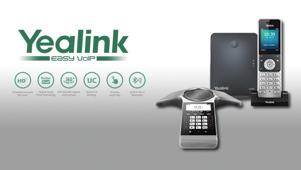 Yealink Launch CP920 Conference Phone and DECT IP Phone W60 Package