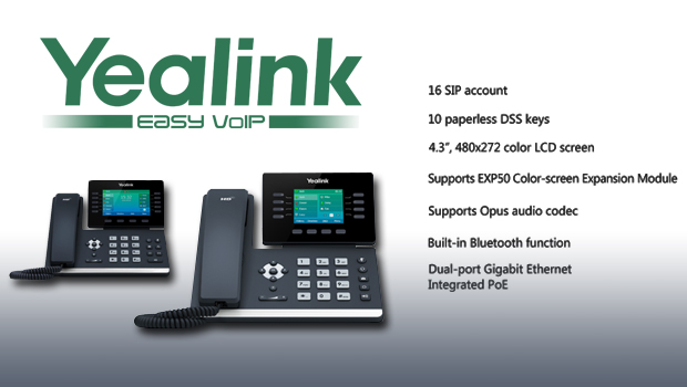 Yealink Announce T54S and T52S Global Release