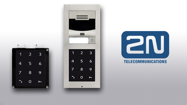 2N Launch Helios IP Verso Touch Keypad Module