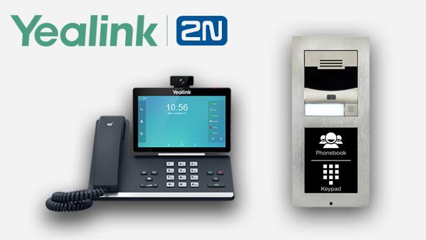 Yealink's T5 Smart Media Phone Series Interoperable with 2N's IP Intercom System