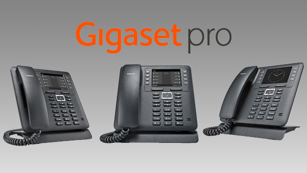 Gigaset Pro Release New Maxwell 2 IP Phone