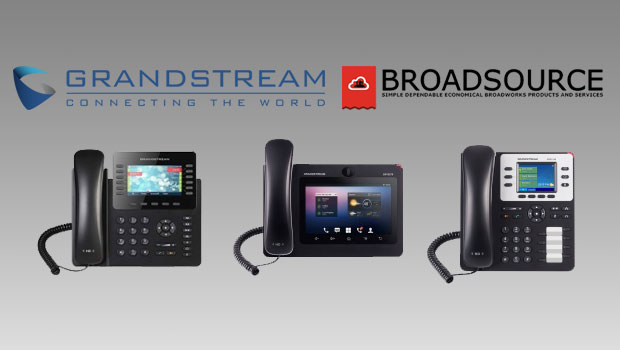 Grandstream Announces Compatibility with BroadSource