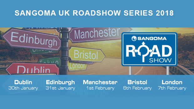 Sangoma Announce 5 UK Locations for Reseller Roadshow