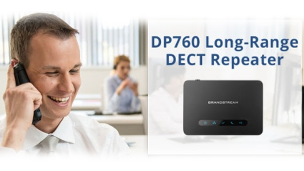 Grandstream Release DP760 DECT Repeater