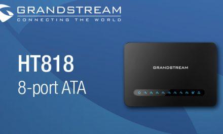 Grandstream Announces New HT818 8-Port ATA