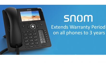 Snom extend warranty to 3 years on all phones