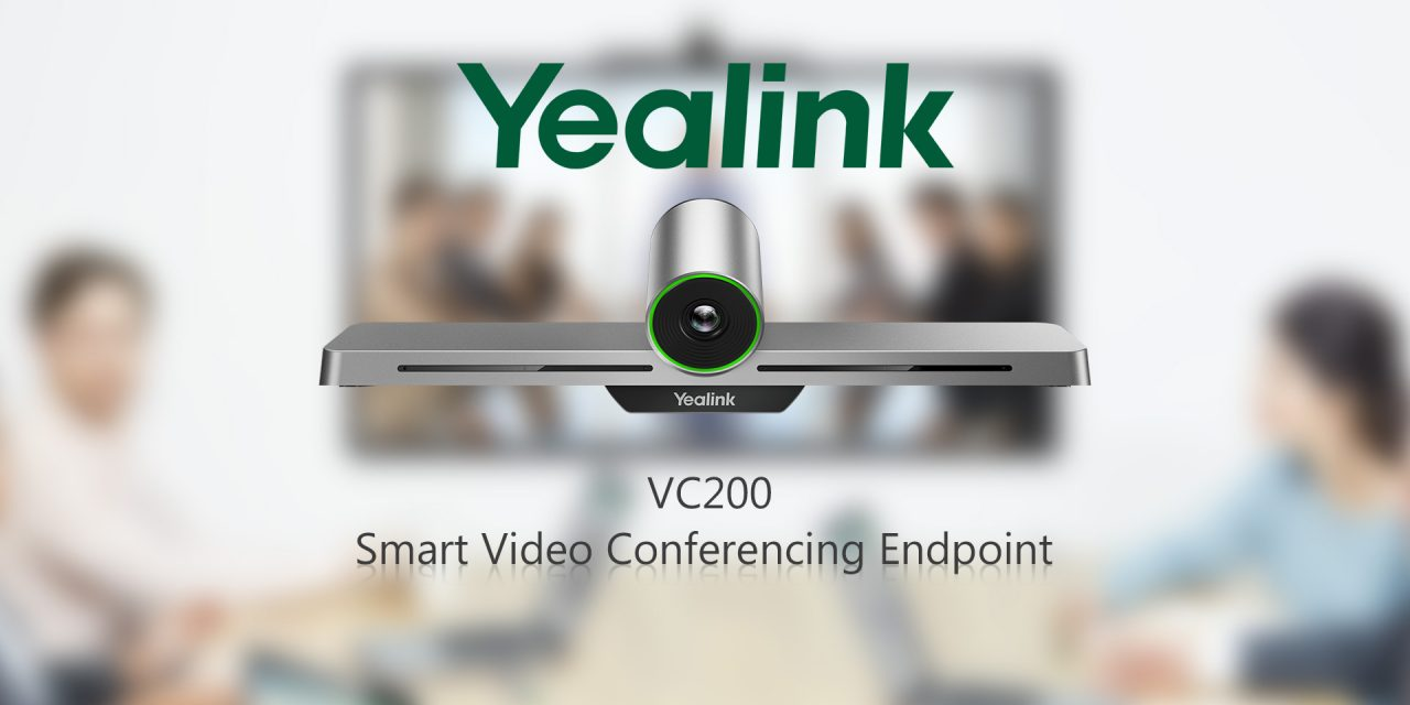 Yealink Introduces VC200 Huddle Room Solution