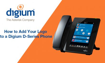 How to add your company logo to a Digium D-Series Phone