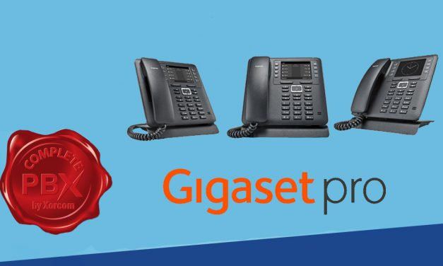 Gigaset IP Phones now supported by CompletePBX 5.0.55