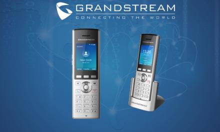 Introducing the Grandstream WP820 Enterprise Portable WiFi Phone