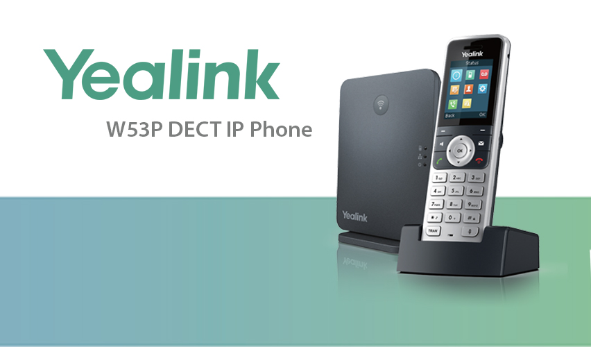 Yealink announces new wireless DECT solution W53P