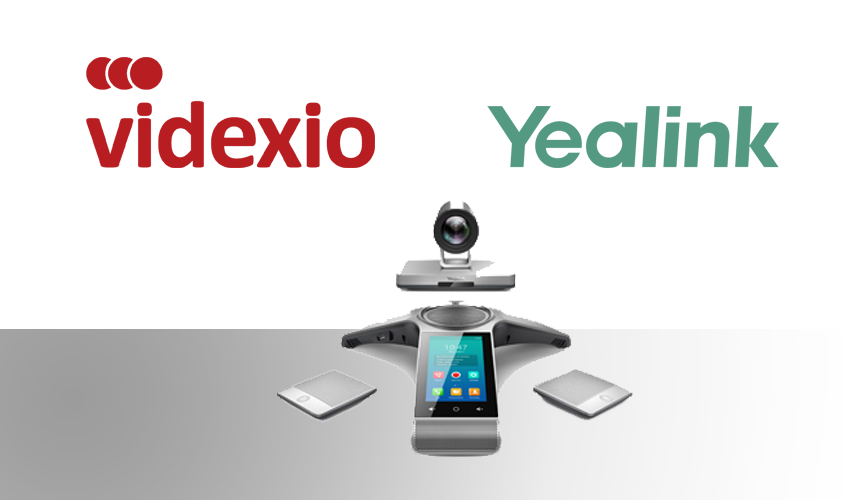 Yealink announces partnership with Videxio for video conferencing devices
