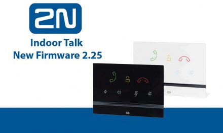New functions for the 2N indoor talk provided by FW 2.25