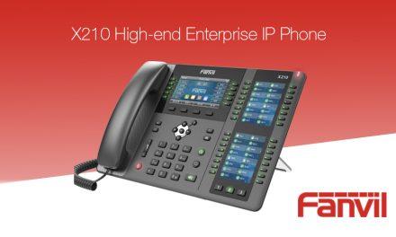Introducing the Fanvil X210 Enterprise IP Phone
