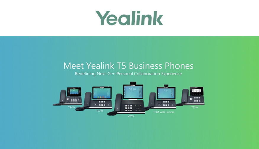 Yealink Releases New T5 Business Phone Series
