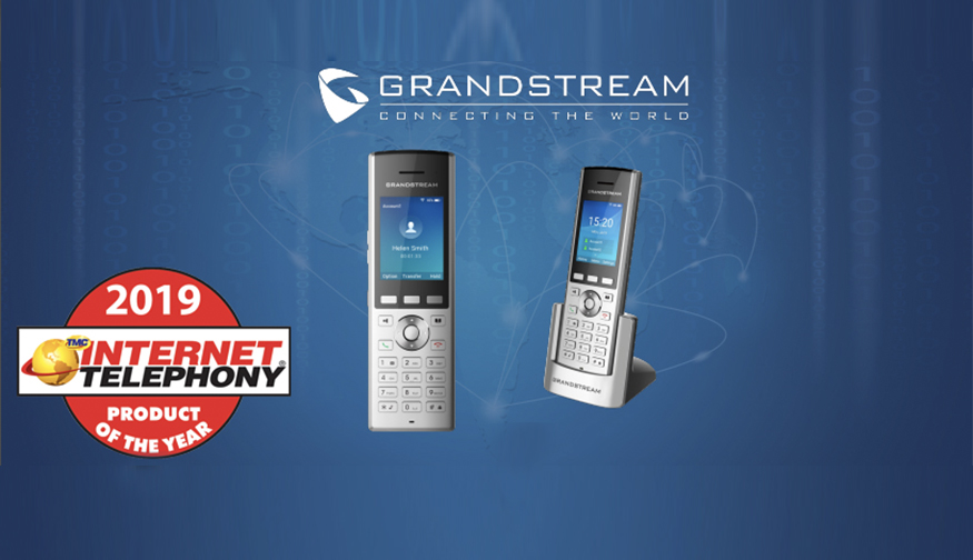 Grandstream Receives 2019 INTERNET TELEPHONY Product of the Year Award