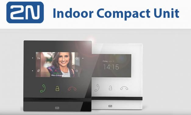 Introducing 2N's new Indoor Compact Answering Unit